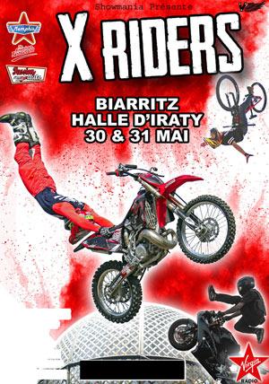 X RIDERS La Halle d'Iraty rencontre, compétition de sports mécaniques