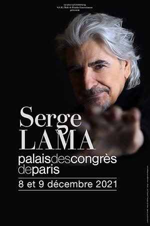 SERGE LAMA concert de chanson française