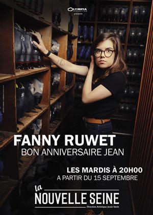 FANNY RUWET La nouvelle Seine one man/woman show