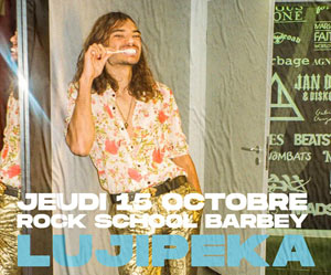 HIP HOP BOOMBOX: LUJIPEKA + INVITE
