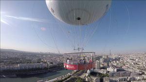 BALLON GENERALI DE PARIS PARC ANDRE CITROEN activité, loisir