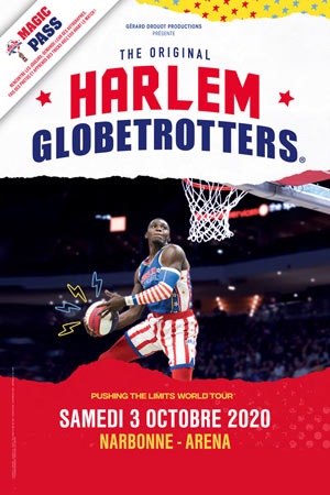 HARLEM GLOBETROTTERS ARENA DE NARBONNE rencontre, compétition de basket