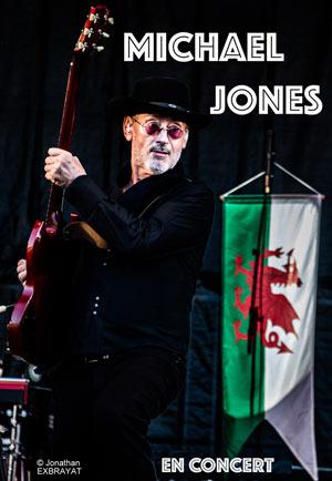 MICHAEL JONES Les Puces du Canal concert de chanson française