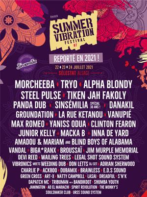 SUMMER VIBRATION FESTIVAL - CAMPING LES TANZMATTEN concert de reggae dub