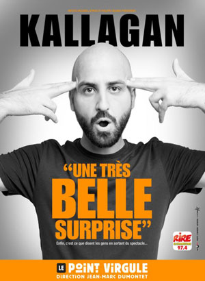 KALLAGAN THEATRE POINT-VIRGULE one man/woman show