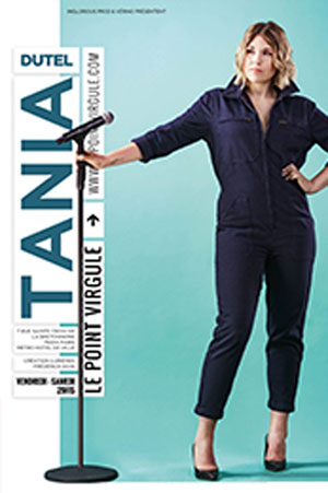 TANIA DUTEL THEATRE POINT-VIRGULE one man/woman show
