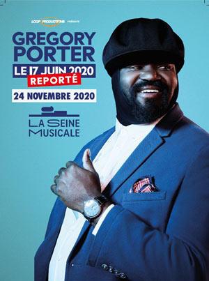 GREGORY PORTER La Seine Musicale concert de jazz