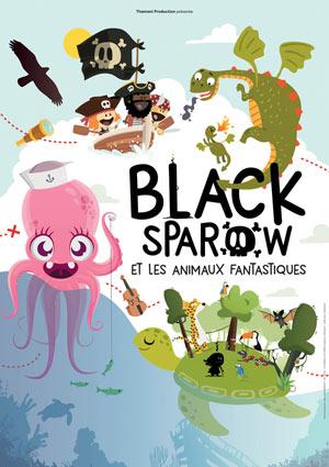 LES AVENTURES DE BLACK SPAROW DEFONCE DE RIRE spectacle pour enfant