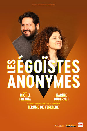 MICHEL FRENNA ET KARINE DUBERNET CAFE THEATRE DE LA POSTE one man/woman show
