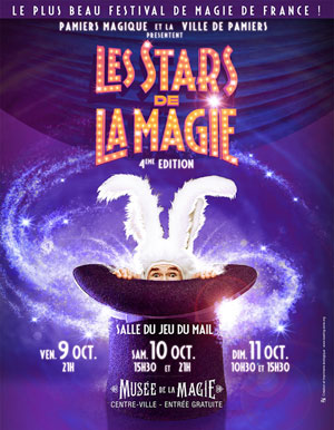 Plus d'infos sur l'évènement LES STARS DE LA MAGIE