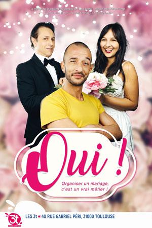 OUI LES 3T comédie, pièce de théâtre d'humour
