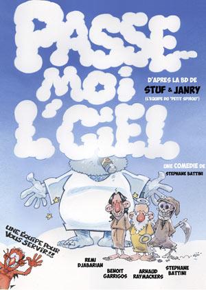PASSE MOI L'CIEL THEATRE DES GRANDS ENFANTS comédie, pièce de théâtre d'humour