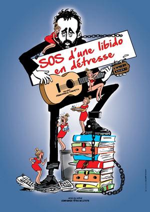 SOS D'UNE LIBIDO EN DETRESSE THEATRE DES GRANDS ENFANTS comédie, pièce de théâtre d'humour