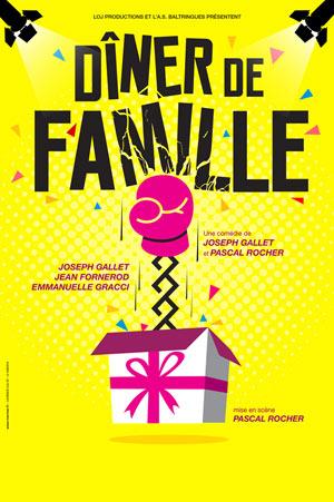 DINER DE FAMILLE Le Theatre De Jeanne - Nantes comédie, pièce de théâtre d'humour