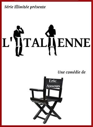 L'ITALIENNE THEATRE BELLECOUR comédie, pièce de théâtre d'humour