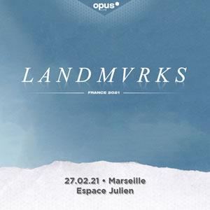 LANDMVRKS + INVITES Espace julien concert de rock