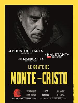 LE COMTE DE MONTE-CRISTO THEATRE DE POCHE GRASLIN pièce de théâtre contemporain