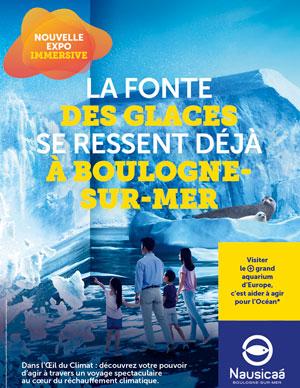 EXPOSITION DANS L'OEIL DU CLIMAT CENTRE NATIONAL DE LA MER événement
