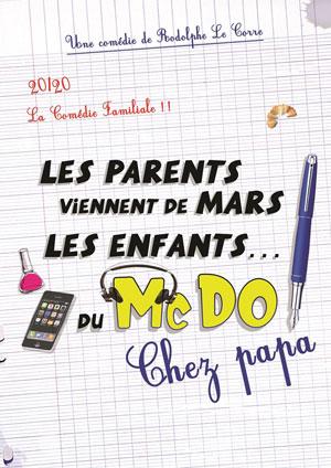 LES PARENTS VIENNENT DE MARS, Le Theatre De Jeanne comédie, pièce de théâtre d'humour
