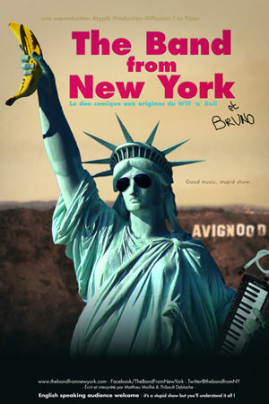 THE BAND FROM NEW YORK THEATRE DE POCHE GRASLIN pièce de théâtre musical