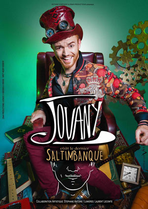 JOVANY CAFE THEATRE LE BACCHUS one man/woman show