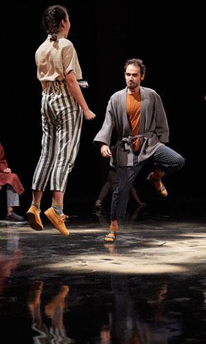 PLACE Théâtre de la Croix Rousse pièce de théâtre contemporain