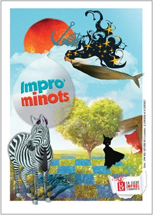 IMPRO'MINOTS LE COMPLEXE pièce de théâtre pour enfant