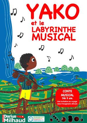 YAKO & LE LABYRINTHE MUSICAL Théâtre Darius Milhaud conte