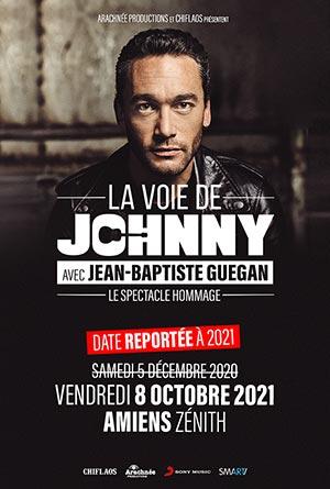 LA VOIE DE JOHNNY ZENITH AMIENS concert de chanson française