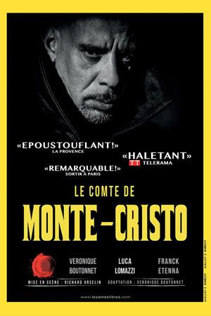 LE COMTE DE MONTE-CRISTO Théâtre Essaion de Paris pièce de théâtre contemporain