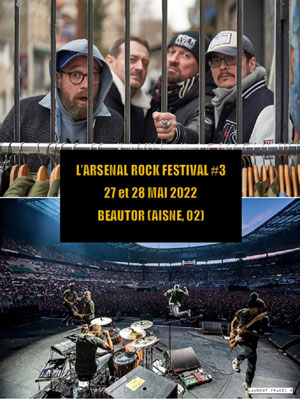 L'ARSENAL ROCK FESTIVAL #2 ZONE DE LOISIRS concert de rock