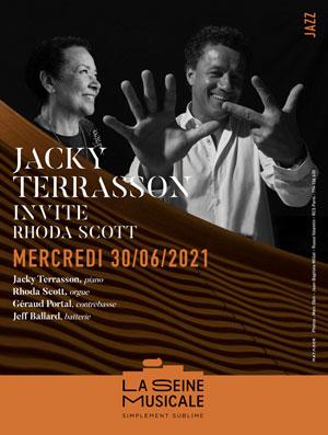 Plus d'infos sur l'évènement JACKY TERRASSON INVITE RHODA SCOTT