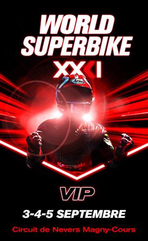 CH DU MONDE FIM SUPERBIKE VIP Circuit de Nevers Magny-Cours rencontre, compétition de sports mécaniques