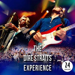 THE DIRE STRAITS EXPERIENCE PARC DE LA SAPINIERE concert de R&B