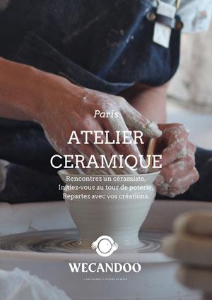 TOURNAGE DE CÉRAMIQUE DIVERS LIEUX atelier