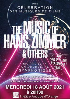 Plus d'infos sur l'évènement THE MUSIC OF HANS ZIMMER & OTHERS