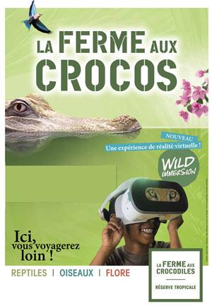 LA FERME AUX CROCODILES La Ferme aux Crocodiles visite de parc animalier
