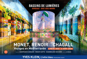 MONET, RENOIR... CHAGALL Bassins de Lumières exposition