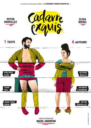 CADAVRE EXQUIS THEATRE DE POCHE GRASLIN comédie, pièce de théâtre d'humour