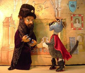 LE CHAT BOTTE Le Theatre De Jeanne pièce de théâtre pour enfant