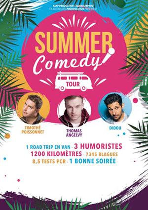 Plus d'infos sur l'évènement SUMMER COMEDY TOUR