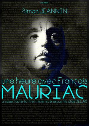 UNE HEURE AVEC FRANCOIS MAURIAC Théâtre Trianon one man/woman show