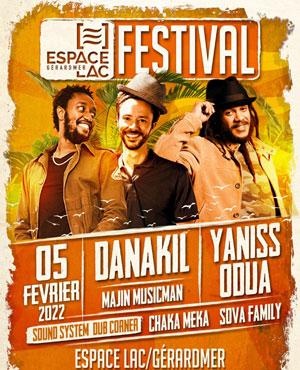 Plus d'infos sur l'évènement DANAKIL / YANISS ODUA & ARTIKAL B.