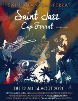 Plus d'infos sur l'évènement FEST. ST JAZZ CAP FERRAT 2021-P 3 J