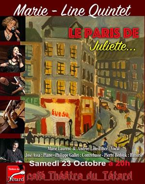Plus d'infos sur l'évènement LE PARI(S) DE JULIETTE
