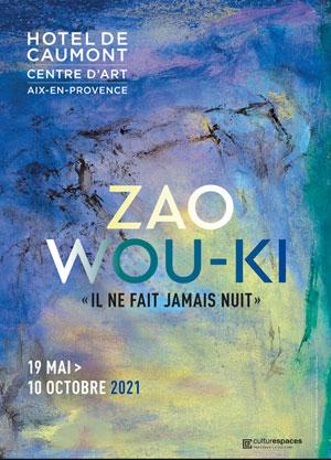 ZAO WOU-KI Hôtel de Caumont exposition