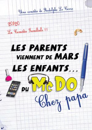 LES PARENTS VIENNENT DE MARS, THEATRE COMEDIE DE LILLE comédie, pièce de théâtre d'humour