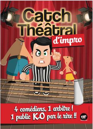 LE CATCH D'IMPROVISATION THEATRALE La Boite à Rire Lille spectacle de café-théâtre