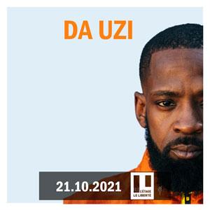 DA UZI L'ETAGE concert de rap hip-hop