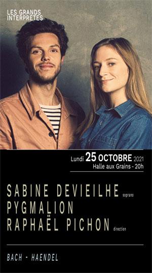 SABINE DEVIEILHE - PYGMALION Halle aux Grains concert de musique classique